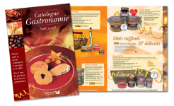 catalogue gastronomie